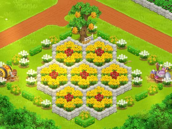Schlicht aber schön,Bienen Inspiration