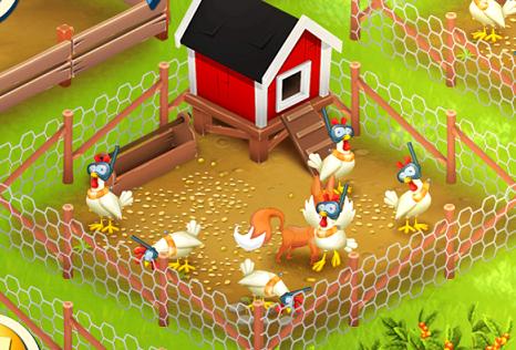 Fuchs im Hühnergatter 2
